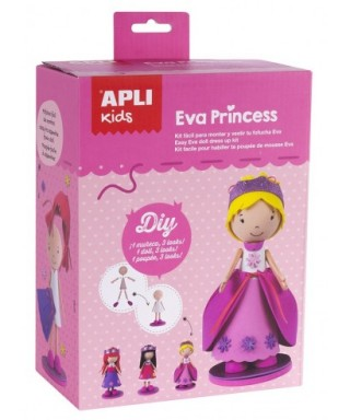 Kit fofucha EVA PRINCESS - APLI - 14822