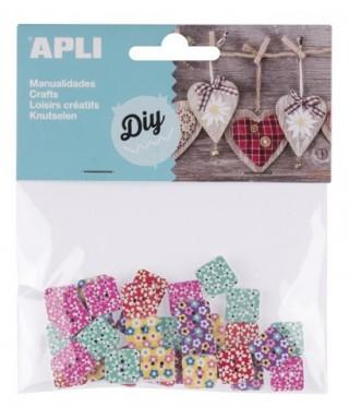 Bolsa botones estampados – APLI - 14787