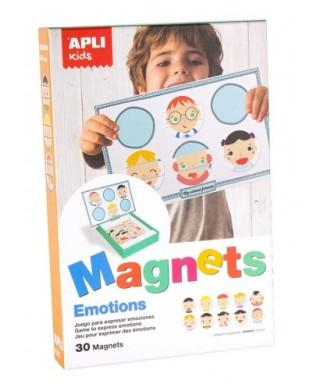 Juego magnético EMOCIONES- Diseño SOCKLINA - APLI - 14803