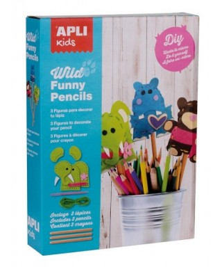 Kit de costura lápices WILD FUNNY PENCILS - APLI - 14350