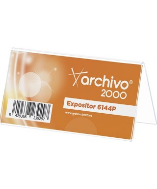 Portanombre sobremesa- ARCHIVO 2000 - 6144P CS TP