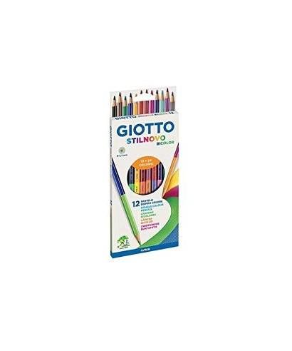 Lapices de colores surtidos bicolor Stilnovo- GIOTTO - 256900