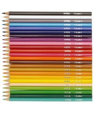 Lápices colores surtidos Colors 3.0- GIOTTO - 276600