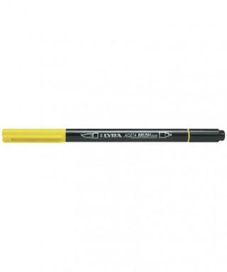 Rotuladores Lyra Aqua Brush Duo amarillo cadmio - GIOTTO - Ref. 6520005