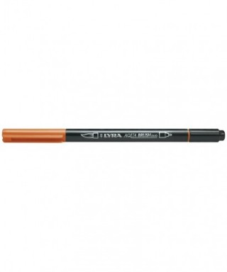 Rotuladores Lyra Aqua Brush Duo naranja claro - GIOTTO - Ref. 6520013