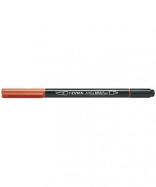 Rotuladores Lyra Aqua Brush Duo naranja oscuro - GIOTTO - Ref. 6520015