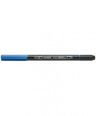 Rotuladores Lyra Aqua Brush Duo azul cobalto - GIOTTO - Ref. 6520044