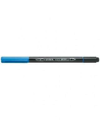 Rotuladores Lyra Aqua Brush Duo azul - GIOTTO - Ref. 6520048