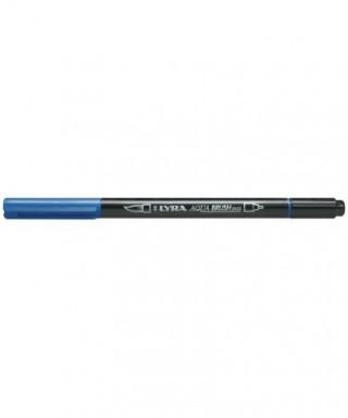 Rotuladores Lyra Aqua Brush Duo azul prusia - GIOTTO - Ref. 6520051