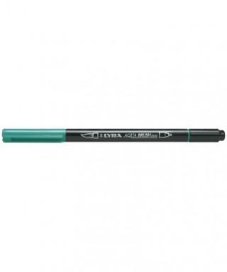 Rotuladores Lyra Aqua Brush Duo verde noche - GIOTTO - Ref.6520055