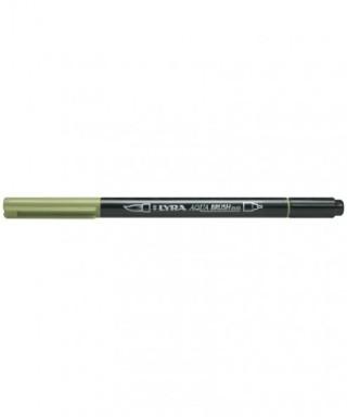 Rotuladores Lyra Aqua Brush Duo verde musgo- GIOTTO - Ref. 6520068