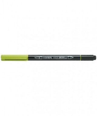 Rotuladores Lyra Aqua Brush Duo verde manzana - GIOTTO - Ref. 6520070