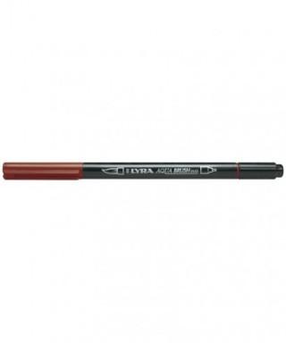 Rotuladores Lyra Aqua Brush Duo rojo Pompeya - GIOTTO - Ref. 6520090
