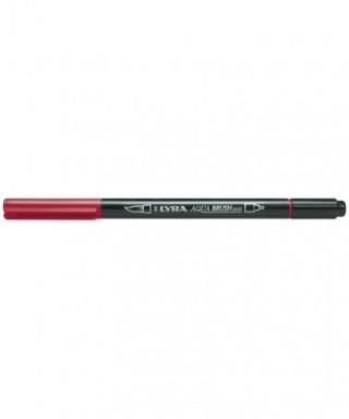 Rotuladores Lyra Aqua Brush Duo rojo Venecia - GIOTTO - Ref. 6520091