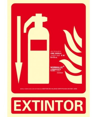 "Cartel ""EXTINTOR""- ARCHIVO 2000 - 6171-01H RJ"