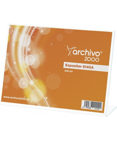 Portafolleto sobremesa A5 ARCHIVO 2000 - 6145A CS TP