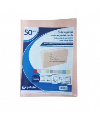 Subcarpetas sepia folio - 00017366