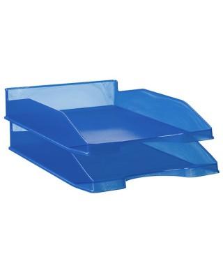 Bandeja azul translúcido- ARCHIVO 2000 - 742 AZ TL