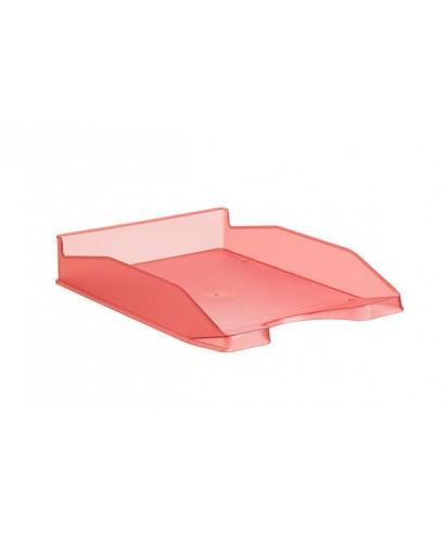 Bandeja rojo translúcido- DEQUA - 742 RJ TL